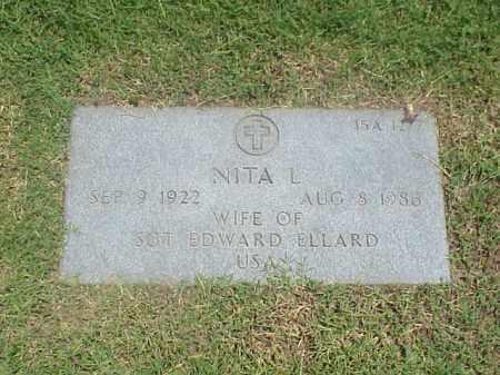 ELLARD, NITA L - Pulaski County, Arkansas | NITA L ELLARD - Arkansas Gravestone Photos