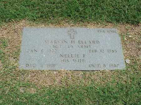 ELLARD, NELLIE F - Pulaski County, Arkansas | NELLIE F ELLARD - Arkansas Gravestone Photos