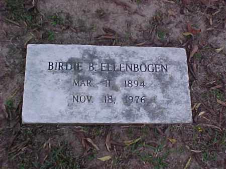 ELLENBOGEN, BIRDIE B - Pulaski County, Arkansas | BIRDIE B ELLENBOGEN - Arkansas Gravestone Photos