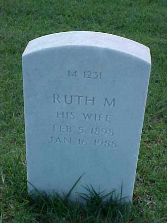 ELLIOTT, RUTH M - Pulaski County, Arkansas | RUTH M ELLIOTT - Arkansas Gravestone Photos