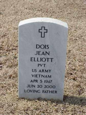 ELLIOTT (VETERAN  VIET), DOIS JEAN - Pulaski County, Arkansas | DOIS JEAN ELLIOTT (VETERAN  VIET) - Arkansas Gravestone Photos