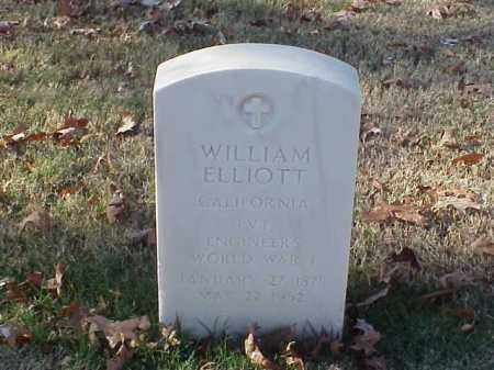 ELLIOTT (VETERAN WWI), WILLIAM - Pulaski County, Arkansas | WILLIAM ELLIOTT (VETERAN WWI) - Arkansas Gravestone Photos