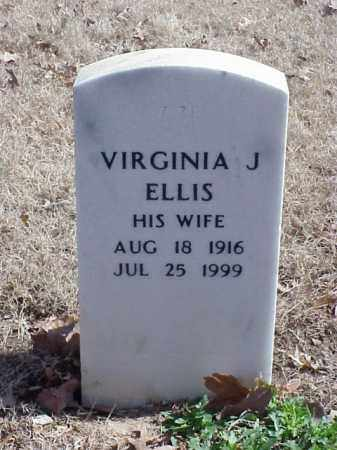 ELLIS, VIRGINIA J - Pulaski County, Arkansas | VIRGINIA J ELLIS - Arkansas Gravestone Photos