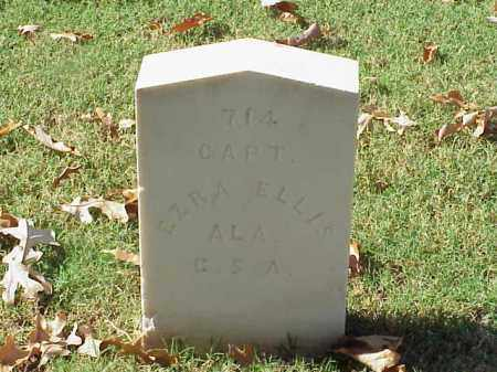 ELLIS (VETERAN CSA), EZRA - Pulaski County, Arkansas | EZRA ELLIS (VETERAN CSA) - Arkansas Gravestone Photos
