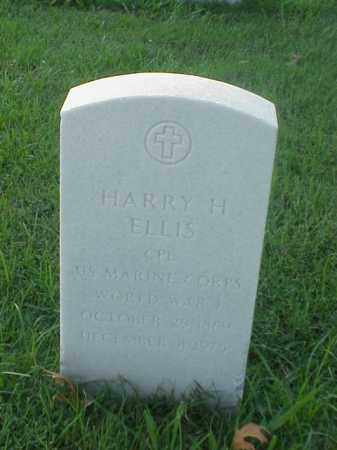 ELLIS (VETERAN WWI), HARRY H - Pulaski County, Arkansas | HARRY H ELLIS (VETERAN WWI) - Arkansas Gravestone Photos