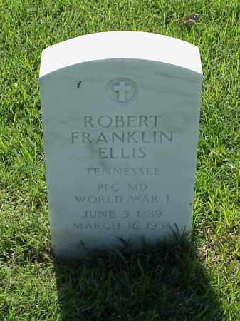 ELLIS (VETERAN WWI), ROBERT FRANKLIN - Pulaski County, Arkansas | ROBERT FRANKLIN ELLIS (VETERAN WWI) - Arkansas Gravestone Photos