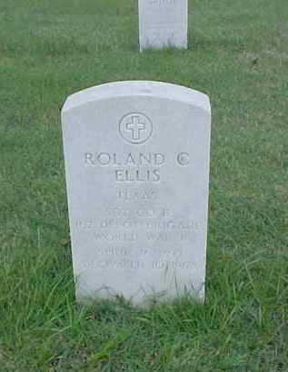 ELLIS (VETERAN WWI), ROLAND C - Pulaski County, Arkansas | ROLAND C ELLIS (VETERAN WWI) - Arkansas Gravestone Photos
