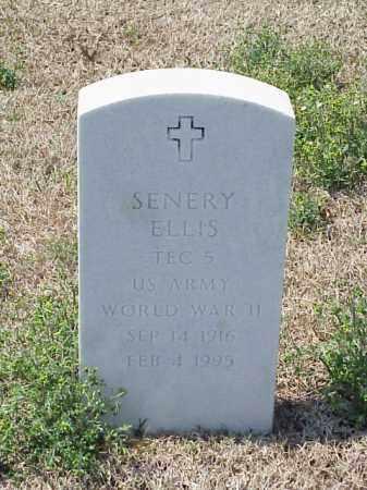 ELLIS (VETERAN WWI), SENERY - Pulaski County, Arkansas | SENERY ELLIS (VETERAN WWI) - Arkansas Gravestone Photos