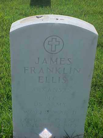ELLIS (VETERAN WWII), JAMES FRANKLIN - Pulaski County, Arkansas | JAMES FRANKLIN ELLIS (VETERAN WWII) - Arkansas Gravestone Photos