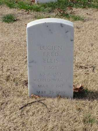 ELLIS (VETERAN WWII), LUCIEN FRED - Pulaski County, Arkansas | LUCIEN FRED ELLIS (VETERAN WWII) - Arkansas Gravestone Photos
