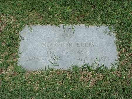 ELLIS (VETERAN), CHESTER - Pulaski County, Arkansas | CHESTER ELLIS (VETERAN) - Arkansas Gravestone Photos