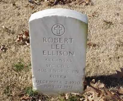 ELLISON (VETERAN KOR), ROBERT LEE - Pulaski County, Arkansas | ROBERT LEE ELLISON (VETERAN KOR) - Arkansas Gravestone Photos