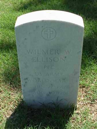 ELLISON (VETERAN WWII), WILMER W - Pulaski County, Arkansas | WILMER W ELLISON (VETERAN WWII) - Arkansas Gravestone Photos