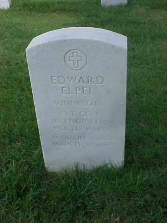 ELPEL (VETERAN WWI), EDWARD - Pulaski County, Arkansas | EDWARD ELPEL (VETERAN WWI) - Arkansas Gravestone Photos