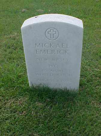 EMERICK (VETERAN WWII), MICKAEL - Pulaski County, Arkansas | MICKAEL EMERICK (VETERAN WWII) - Arkansas Gravestone Photos
