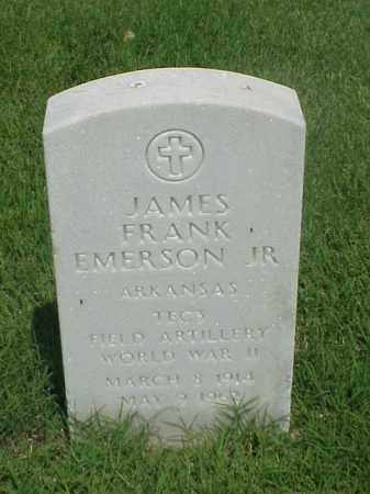 EMERSON, JR (VETERAN WWII), JAMES FRANK - Pulaski County, Arkansas | JAMES FRANK EMERSON, JR (VETERAN WWII) - Arkansas Gravestone Photos