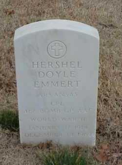 EMMERT  (VETERAN WWII), HERSHEL DOYLE - Pulaski County, Arkansas | HERSHEL DOYLE EMMERT  (VETERAN WWII) - Arkansas Gravestone Photos