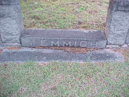 EMMICH, I - Pulaski County, Arkansas | I EMMICH - Arkansas Gravestone Photos