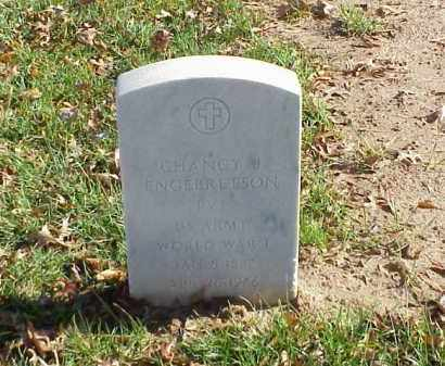 ENGEBRETSON (VETERAN WWI), CHANCY J - Pulaski County, Arkansas | CHANCY J ENGEBRETSON (VETERAN WWI) - Arkansas Gravestone Photos