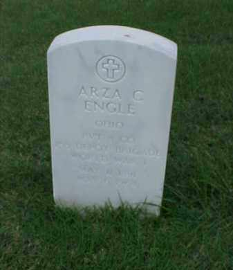 ENGLE (VETERAN WWI), ARZA C - Pulaski County, Arkansas | ARZA C ENGLE (VETERAN WWI) - Arkansas Gravestone Photos