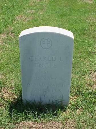 ENGLE (VETERAN WWII), GERALD L - Pulaski County, Arkansas | GERALD L ENGLE (VETERAN WWII) - Arkansas Gravestone Photos