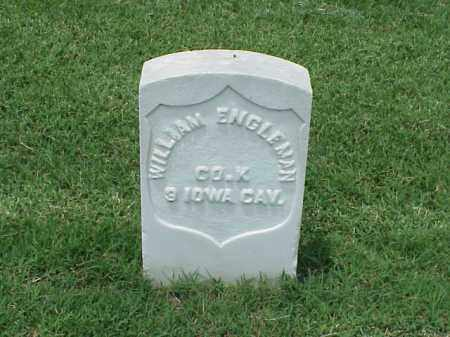 ENGLEMAN (VETERAN UNION), WILLIAM - Pulaski County, Arkansas | WILLIAM ENGLEMAN (VETERAN UNION) - Arkansas Gravestone Photos