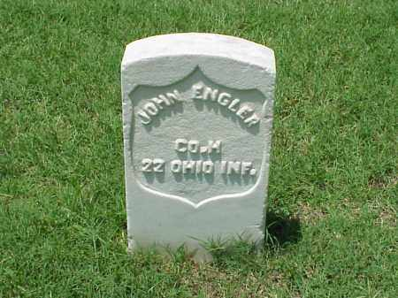 ENGLER (VETERAN UNION), JOHN - Pulaski County, Arkansas | JOHN ENGLER (VETERAN UNION) - Arkansas Gravestone Photos
