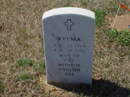 ENGLISH, VELMA - Pulaski County, Arkansas | VELMA ENGLISH - Arkansas Gravestone Photos