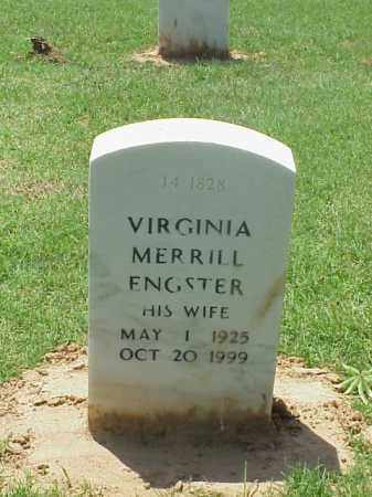 MERRILL ENGSTER, VIRGINIA - Pulaski County, Arkansas | VIRGINIA MERRILL ENGSTER - Arkansas Gravestone Photos