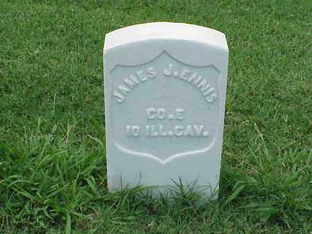 ENNIS (VETERAN UNION), JAMES J - Pulaski County, Arkansas | JAMES J ENNIS (VETERAN UNION) - Arkansas Gravestone Photos