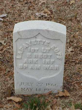EOFF (VETERAN SAW), LAFAYETTE - Pulaski County, Arkansas | LAFAYETTE EOFF (VETERAN SAW) - Arkansas Gravestone Photos