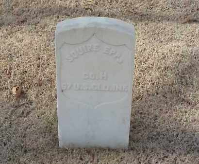 EPPS (VETERAN UNION), SQUIRE - Pulaski County, Arkansas | SQUIRE EPPS (VETERAN UNION) - Arkansas Gravestone Photos