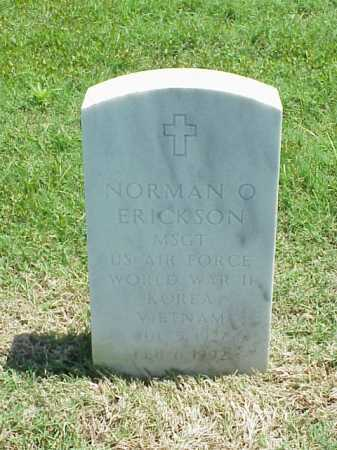 ERICKSON (VETERAN 3 WARS), NORMAN O - Pulaski County, Arkansas | NORMAN O ERICKSON (VETERAN 3 WARS) - Arkansas Gravestone Photos