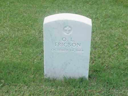 ERICSON (VETERAN UNION), O L - Pulaski County, Arkansas | O L ERICSON (VETERAN UNION) - Arkansas Gravestone Photos