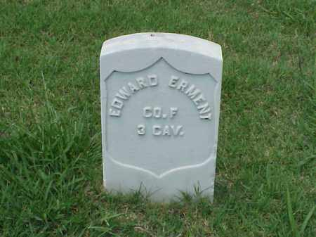 ERMENT (VETERAN UNION), EDWARD - Pulaski County, Arkansas | EDWARD ERMENT (VETERAN UNION) - Arkansas Gravestone Photos