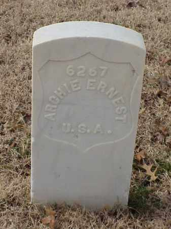 ERNEST (VETERAN WWI), ARCHIE - Pulaski County, Arkansas | ARCHIE ERNEST (VETERAN WWI) - Arkansas Gravestone Photos