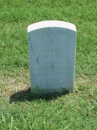 ERNST (VETERAN 2 WARS), RALPH C - Pulaski County, Arkansas | RALPH C ERNST (VETERAN 2 WARS) - Arkansas Gravestone Photos