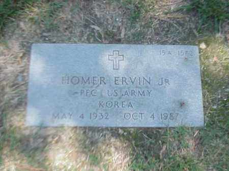ERVIN, JR (VETERAN KOR), HOMER - Pulaski County, Arkansas | HOMER ERVIN, JR (VETERAN KOR) - Arkansas Gravestone Photos