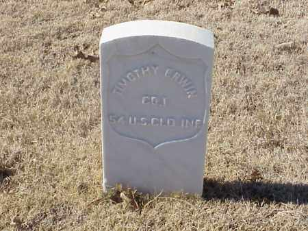 ERWIN (VETERAN UNION), TIMOTHY - Pulaski County, Arkansas | TIMOTHY ERWIN (VETERAN UNION) - Arkansas Gravestone Photos