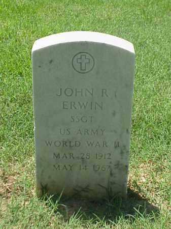 ERWIN (VETERAN WWII), JOHN R - Pulaski County, Arkansas | JOHN R ERWIN (VETERAN WWII) - Arkansas Gravestone Photos