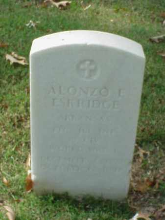 ESKRIDGE (VETERAN WWI), ALONZO L - Pulaski County, Arkansas | ALONZO L ESKRIDGE (VETERAN WWI) - Arkansas Gravestone Photos
