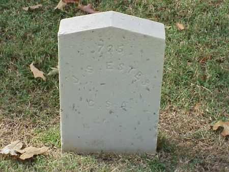 ESTES (VETERAN CSA), J S - Pulaski County, Arkansas | J S ESTES (VETERAN CSA) - Arkansas Gravestone Photos