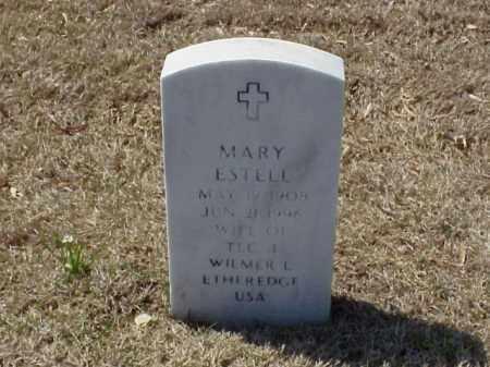 ETHEREDGE, MARY ESTELL - Pulaski County, Arkansas | MARY ESTELL ETHEREDGE - Arkansas Gravestone Photos