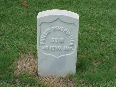 ETHERINGTON (VETERAN UNION), PHILLIP - Pulaski County, Arkansas | PHILLIP ETHERINGTON (VETERAN UNION) - Arkansas Gravestone Photos