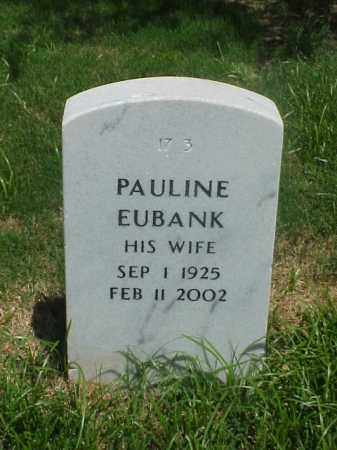 EUBANK, PAULINE - Pulaski County, Arkansas | PAULINE EUBANK - Arkansas Gravestone Photos