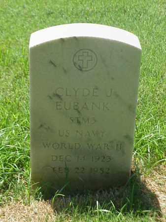 EUBANK (VETERAN WWII), CLYDE J - Pulaski County, Arkansas | CLYDE J EUBANK (VETERAN WWII) - Arkansas Gravestone Photos