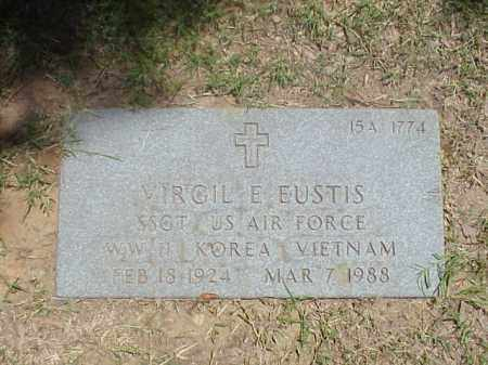 EUSTIS (VETERAN 3 WARS), VIRGIL E - Pulaski County, Arkansas | VIRGIL E EUSTIS (VETERAN 3 WARS) - Arkansas Gravestone Photos