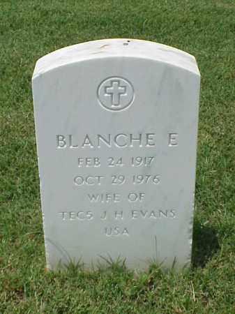 EVANS, BLANCHE E - Pulaski County, Arkansas | BLANCHE E EVANS - Arkansas Gravestone Photos