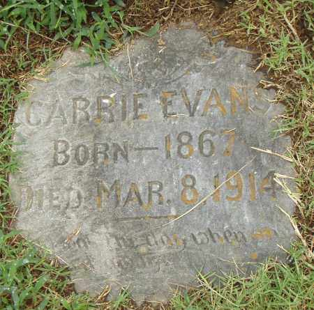 EVANS, CARRIE - Pulaski County, Arkansas | CARRIE EVANS - Arkansas Gravestone Photos