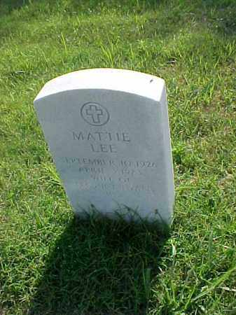 EVANS, MATTIE LEE - Pulaski County, Arkansas | MATTIE LEE EVANS - Arkansas Gravestone Photos